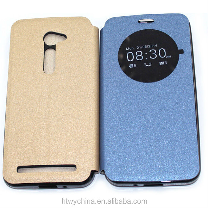 With Quick Circle Wake Up/Sleep Function, Auto Sleep Side Flip PU Leather Case for LG G4 mini