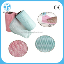 Anti-bacteria Spunlace Disposable Cleaning Wiping Cloths