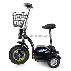 three wheel electric tricycle Electric Scooter 3 Wheel Adult 48v500w tricycle electric