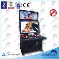 "32""HD monitor arcade cabinet fighting video game"