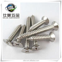 Stainless steel flat head self-tapping screw making machine