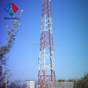 Kuwait 45m triangular steel tower Angle Steel Tower
