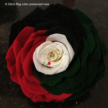 uae national flag color long time lasting fresh roses preserved flowers