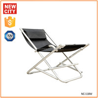 Suitable for outdoor use folding aluminum beach sun chair