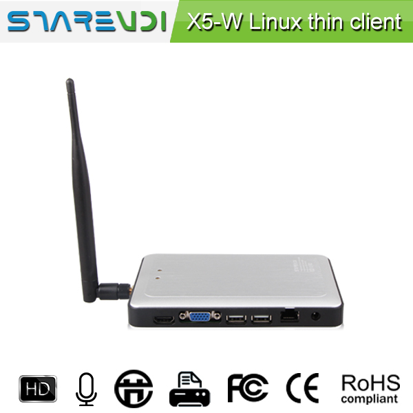 SHAREVDI strong zero client X5-W 1G RAM, CPU 1.5Ghz, Quad core,support online video