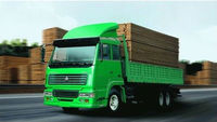 HIGH QUALITY 6x4 cargo truck /LORRY ON HOT SALE