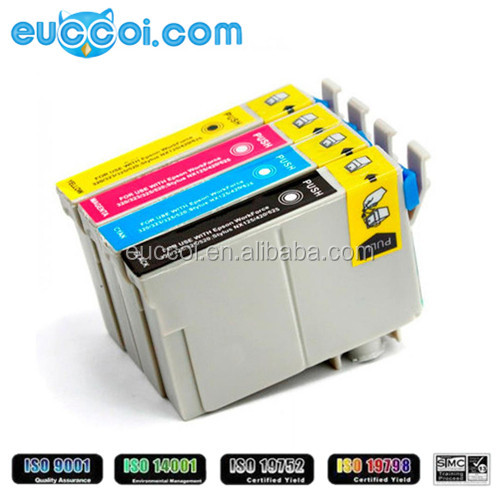 Recycled inkjet cartridge compatible for Epson IC67 black inkjet cartridge replacement for Epson PX-K100 ,new inkjet cartridge