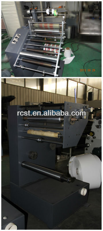 With weight 650kg Rotary Label Slitting Machine