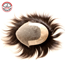 High Quality China Supplier Brazilian Virgin Hair Ventilated Toupee For Men