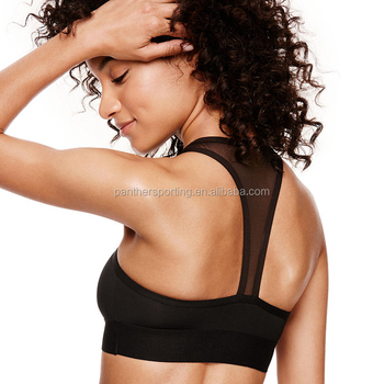 High Quality Super Comfort Backless Cross Fitness Gym Running Yoga Women Sports Bra