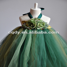 China Wholesale Flower Girl Dress for Wedding Girl Birthday Dress Fancy Party Dress for 2-12 Years Old Girls