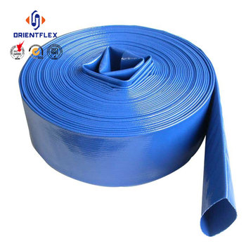 6 inch irrigation lay flat hose,layflat hose,water colorful pvc hose