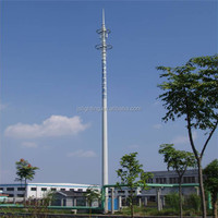 GSM Antenna Telecommunication Communication Monopole Tower