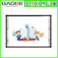 Finger touch interactive smart whiteboard for education