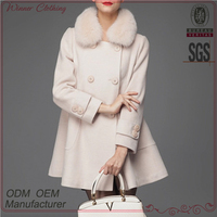 Autumn New Design European luxury elegant Regular style ladies mink fur coat