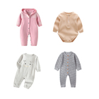 DZ04 2019 new design toddler baby romper, Newborn knitted clothes, fashion baby shirts