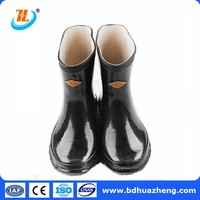 HZ China 35kv Rubber Insulating Boots
