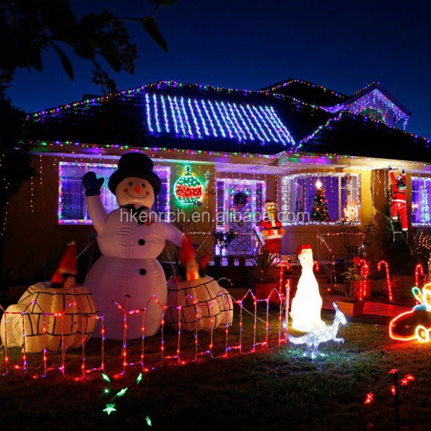 20m 200leds/string solar Christmas string light with diffferent colors
