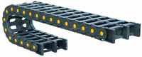 RUIAO load bearing TEZ80F double rows nylon PA66 protective chain cover with CE