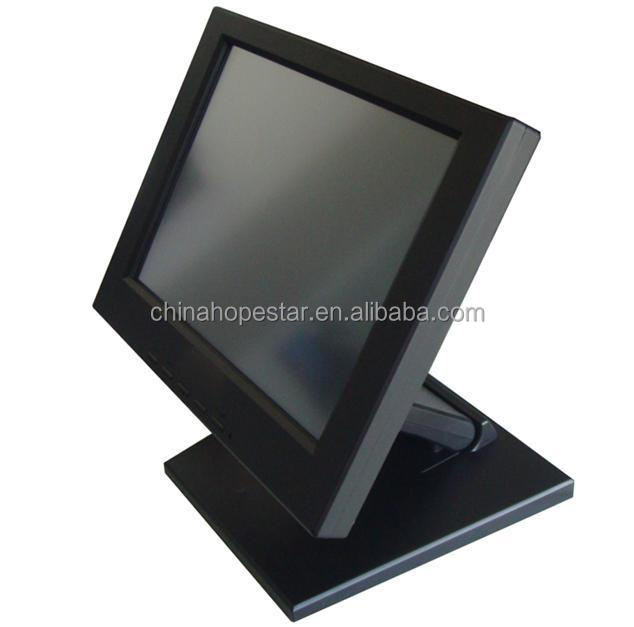 Customized design 12 inch POS LCD Touch Screen Monitor for office meetings or pos terminal
