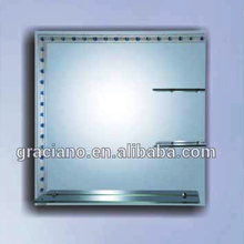 JNG-A111 High Quality Factory Hot Sell Unframed Decorative Wall Standard Size Bathroom Mirror