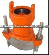 OEM cast iron pipe fitting casting