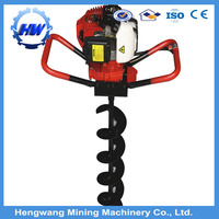 Factory price big power 71cc earth auger,hole digger