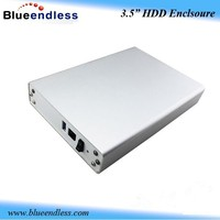 3.5 IDE / SATA External Hard Disk Drive Enclosure Case USB HDD Enclosure
