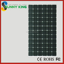 Industrial Solar Plant 260w Solar System Monocrystalline Photovoltaic 180W Solar Panels Manufacturer