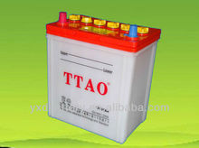 dry charged battery car battery 38B20R 12V 32AH