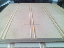 NZ Radiata Pine Plywood with grooves, Radiata Pine Plywood Sheet