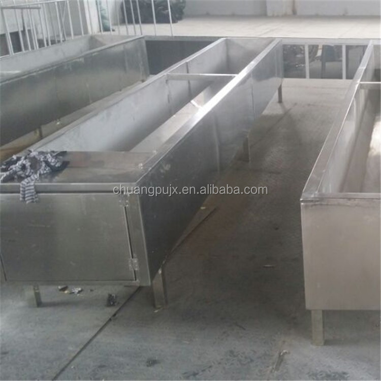 Cattle Water Trough of Stainless Steel