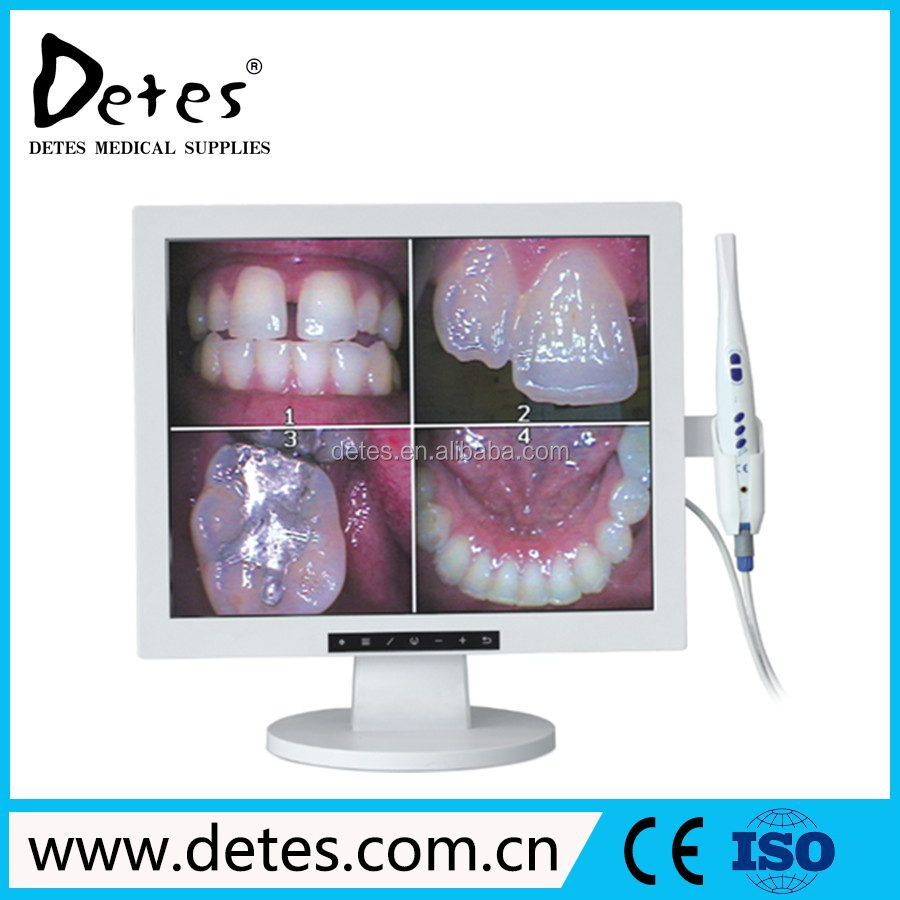 Wired 17 Inch LCD Monitor Intraoral Dental Camera