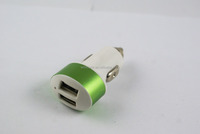 High Quality Dual Usb Port Car Phone Charger 2A Car Cell Phone Charger for Samsung