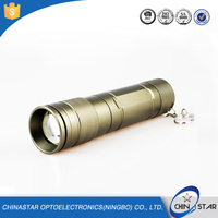 Top Quality Customized Promotion Perfect design durable rechargable 3.7 v 10 watt led torch flashlight