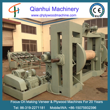 Hard wood face veneer peeling machine / veneer slicing machine cutting