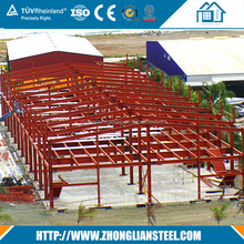 Material Steel structure low cost steel poultry shed