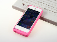Wirless power bank battery battery charger case for iphone 5/5S 2200mAh