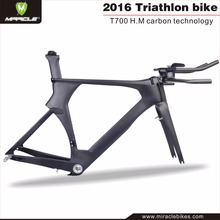 Road Bicycle Carbon Time Trial Bicycle Frameset,2016 Lasted Aero Racing TT Frame
