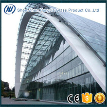 large size double glazing building glass dome