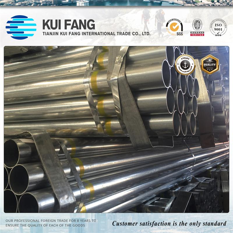 Industrial purposes welded galvanized pipe / steel galvaized pipe / 150*150mm galvanized steel pipe ASTM A53 GRB STEEL