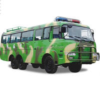 Dongfeng EQ6840PT 6x6 forest fire off road bus for sale