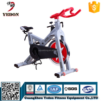 Commercial gym 20kg flywheel fitness spin bike with two ways system