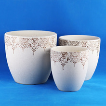 home goods ceramic flower pots flowerpot garden pot plant pot planter 331P-EB