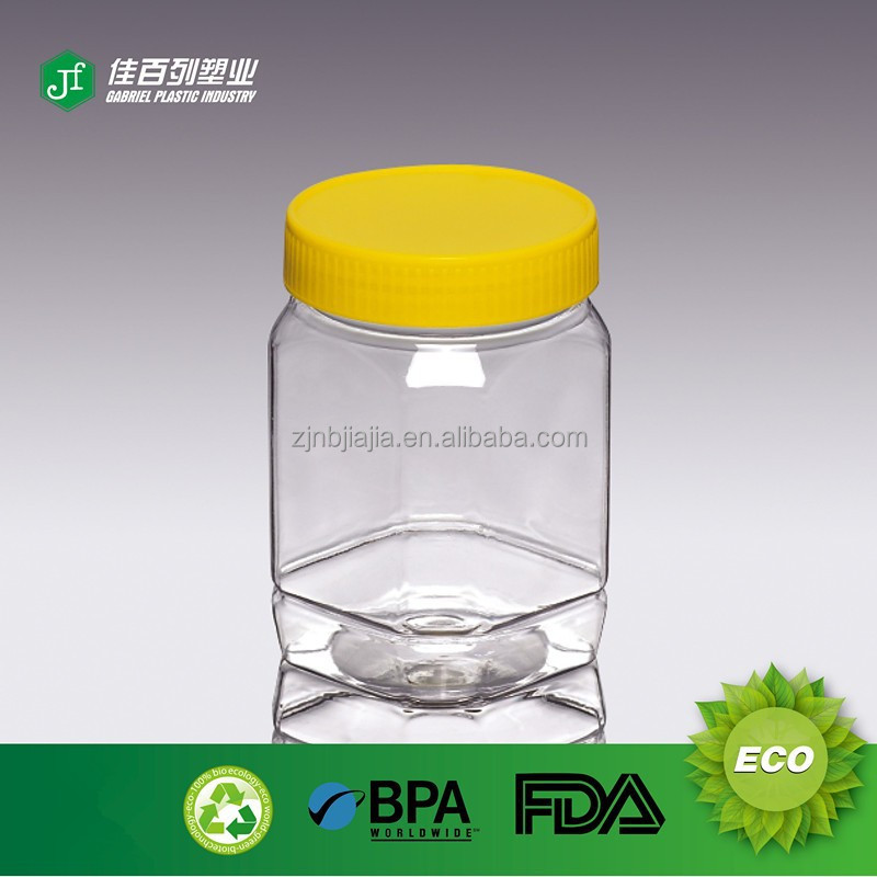 Empty Octagonal Small Plastic Containers For Sale