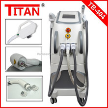 Facory price !!!hot in USA !!! ipl /elight/rf/nd yag laser freckle removal beauty machine for skin rejuvenation and hair removal