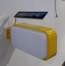 Solar light box with logo printing for <strong>advertising</strong>.