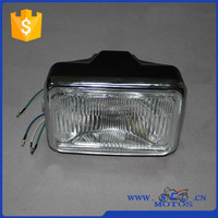 SCL-2012090070 Square Headlight Normal Glass Motorcycle Parts CG125