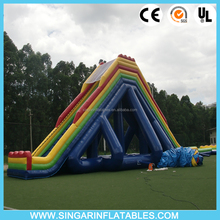 Long inflatable slide, giant inflatable water slide for adult,inflatable water slide adult