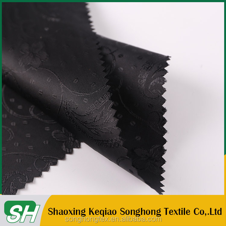 China Manufacturer custom logo Waterproof suit inner lining fabric